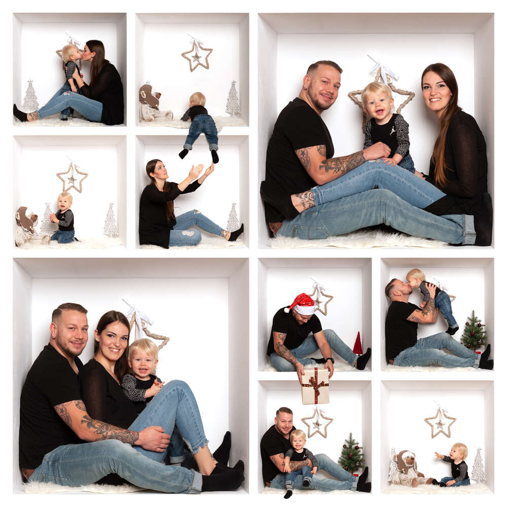 Family In The Box (Mittelrhein-Fotografie)