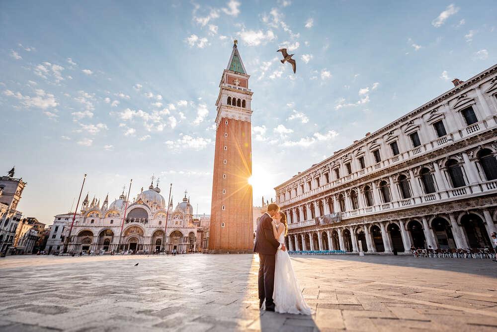 Hochzeitsfotograf Venedig / Hochzeitsfotos Venedig (Frank Herzmann Fotografie)