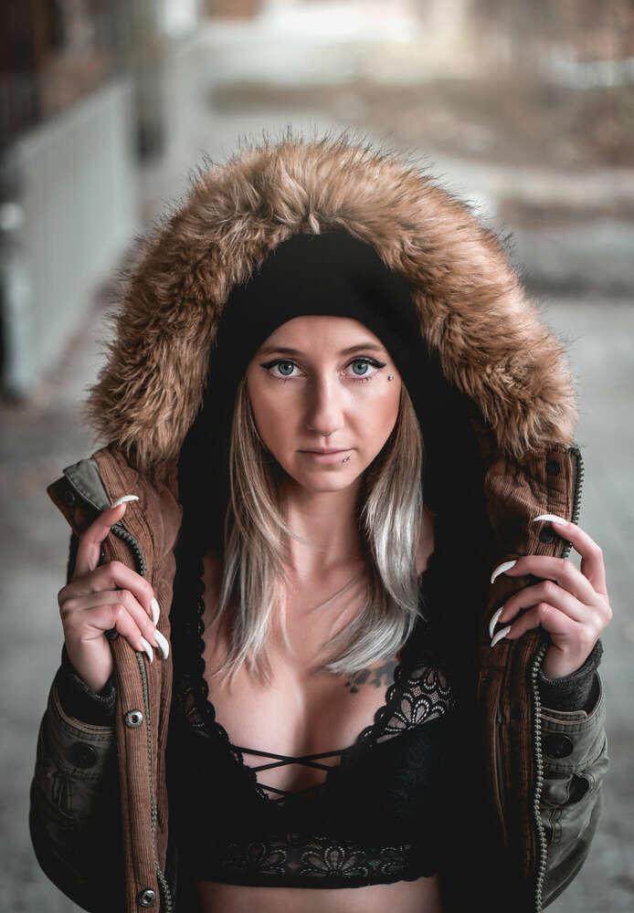 Portrait im Winter /