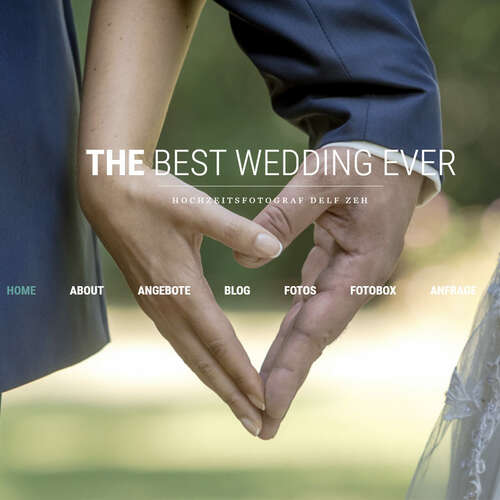 the best wedding ever - Hochzeitsfotograf - Delf Zeh - Fotografen aus Gotha ★ Angebote einholen & vergleichen
