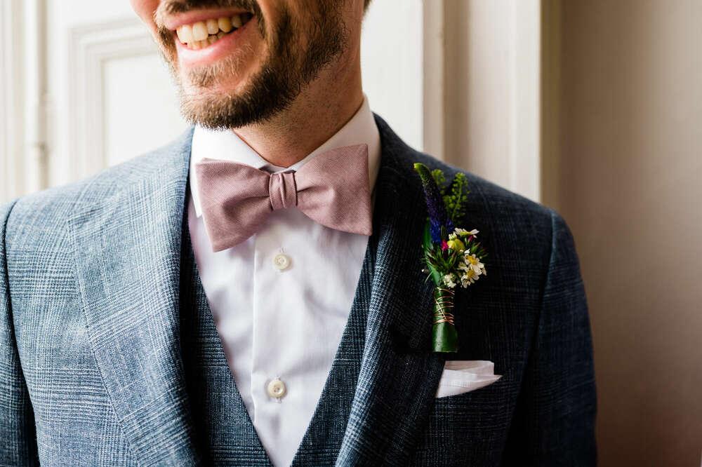Hochzeitsfoto / Details und Lachen (Boris Mehl fotografiert)
