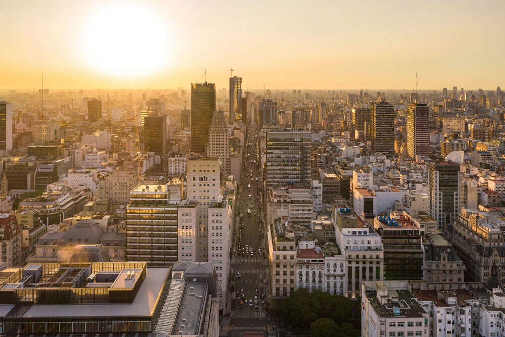 Buenos Aires / Drohnen Aufnahme in Buenos Aires (Köster Fotografie)