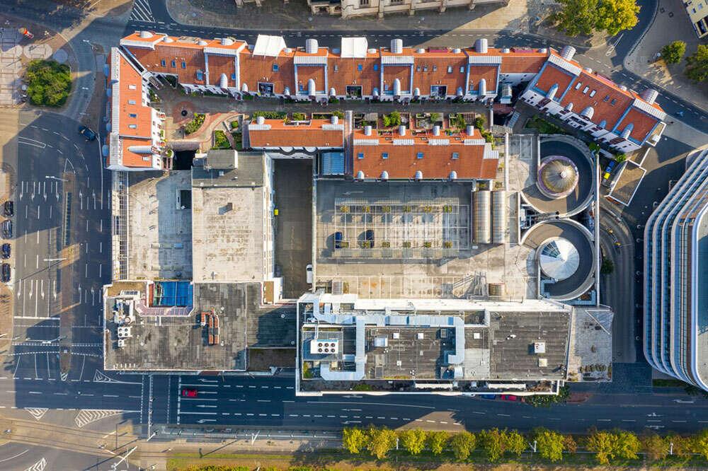Immobilienkomplex / Top Down Vogelperspektive (Köster Fotografie)