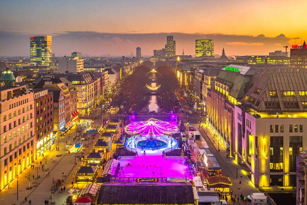 Weihnachtsmarkt / Königsallee (Köster Fotografie)