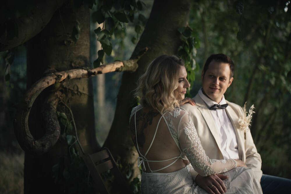 Hochzeit in der Natur /