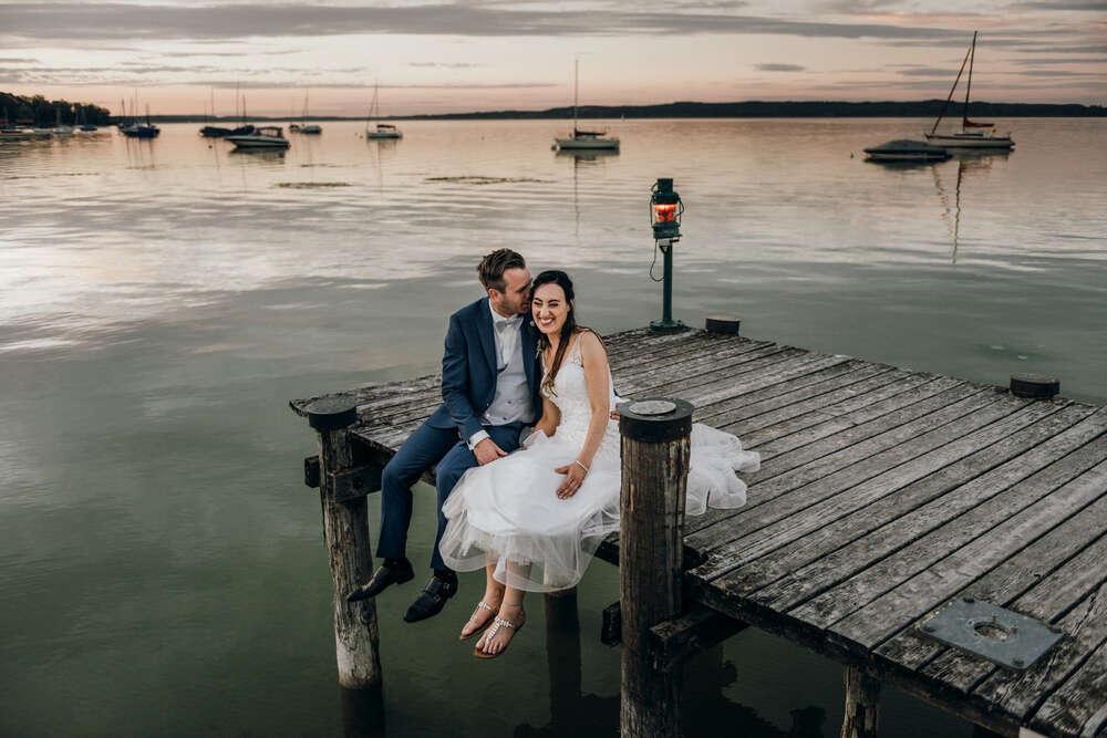 Hochzeitsfotograf Ammersee (Peggy und Chris Photography)
