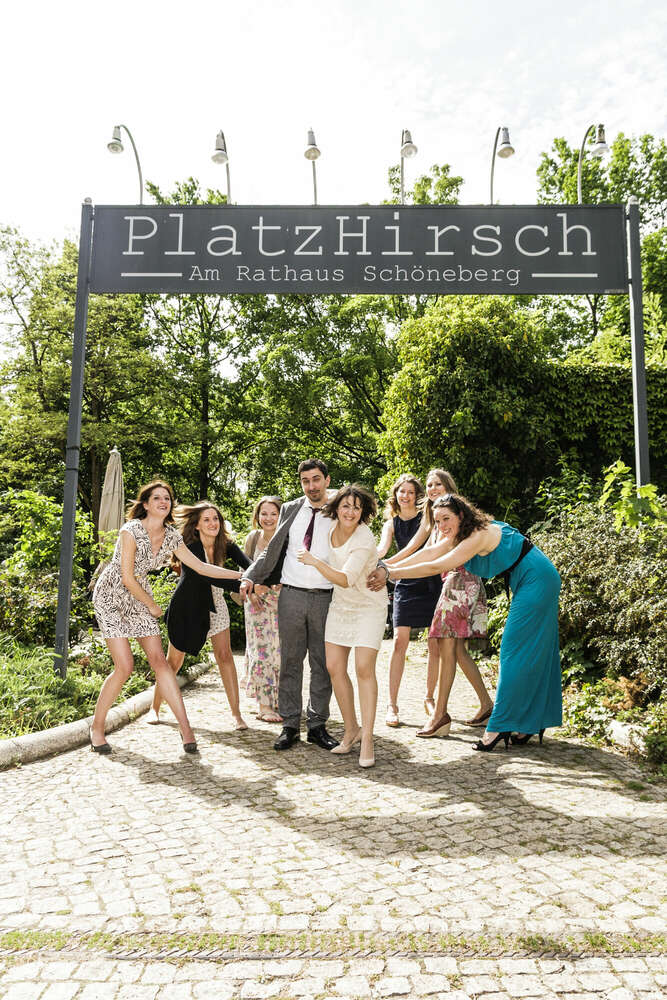 Platzhirsch / Gruppenbild (wellengang Hochzeits- und Familienfotografie)