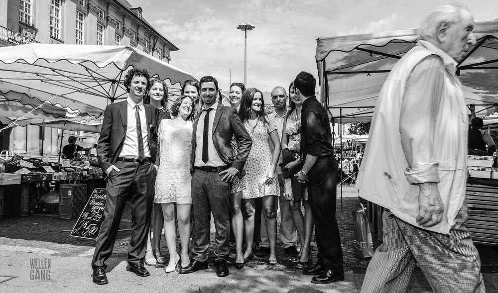 Marktplatz / Gruppenbild (wellengang Hochzeits- und Familienfotografie)