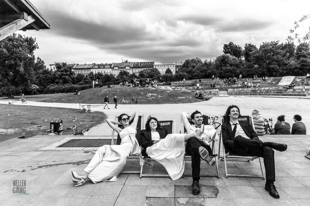 cool and the gang / Gruppenbild (wellengang Hochzeits- und Familienfotografie)