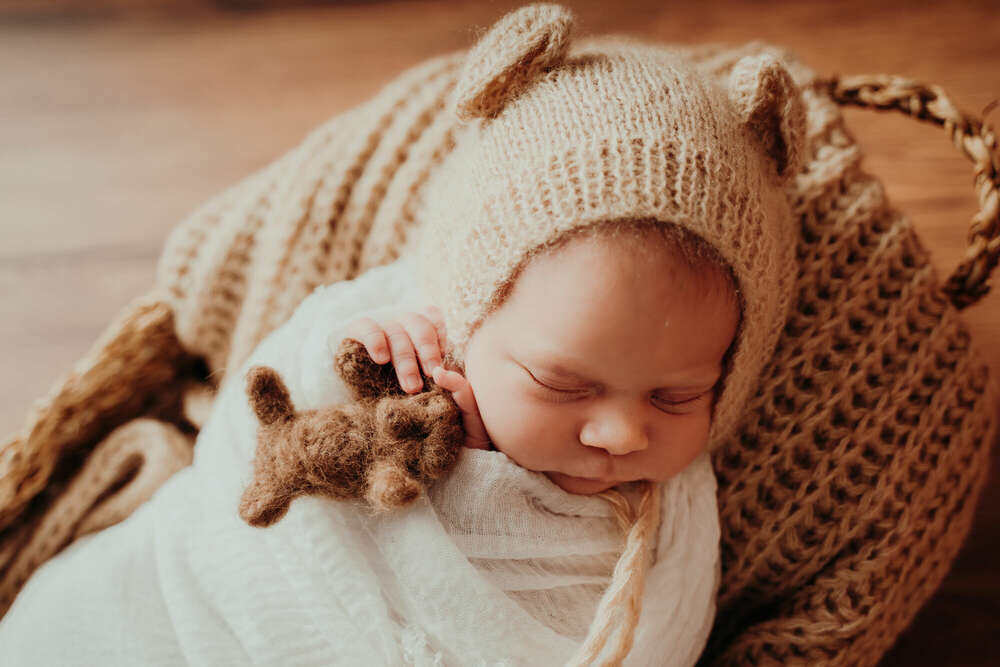 Newborn Fotoshooting (Veronika Breinert Photodesign)