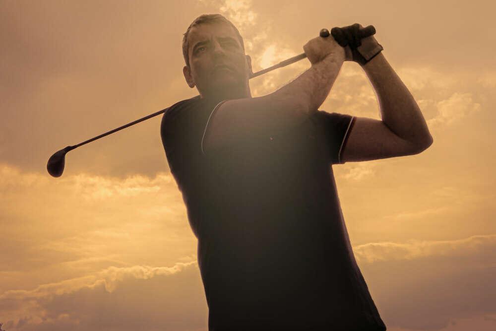 Golf player /