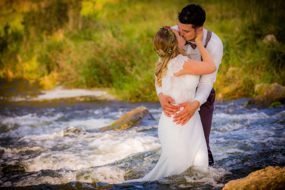 Emotion pur... / Voller Einsatz beim After Wedding...