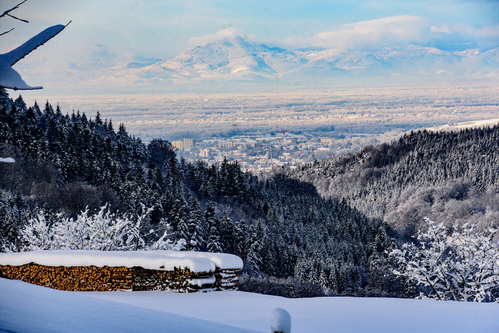 Winterlandschaft /