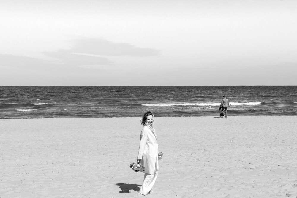 Strandhochzeit – Paarfotoshooting /