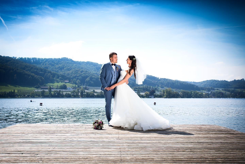 Hochzeitsbild am Bodensee /