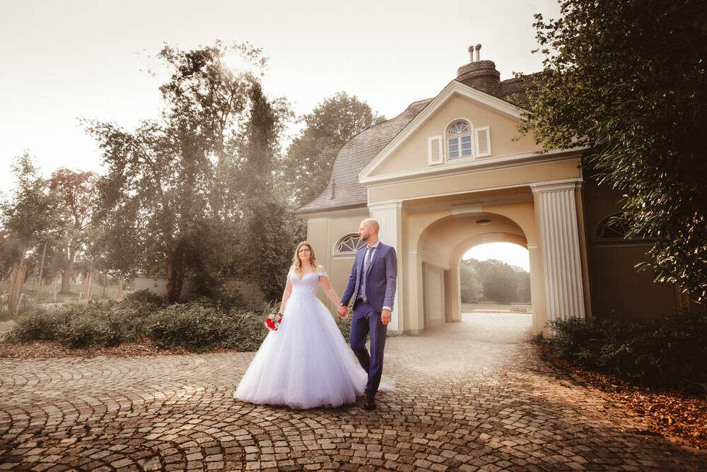 After Wedding Shooting Stadtgarten Bottrop (Udo Dreßler Fotografie)