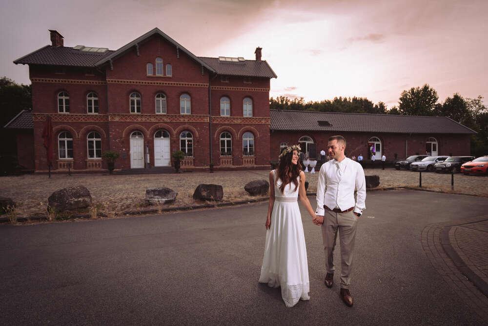 Hochzeit Bahnhof Nord Bottrop (Udo Dreßler Fotografie)