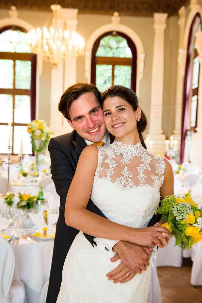 Hochzeit im Logensaal in Fürth / Fotoshooting im Saal (Foto Pastyrik)