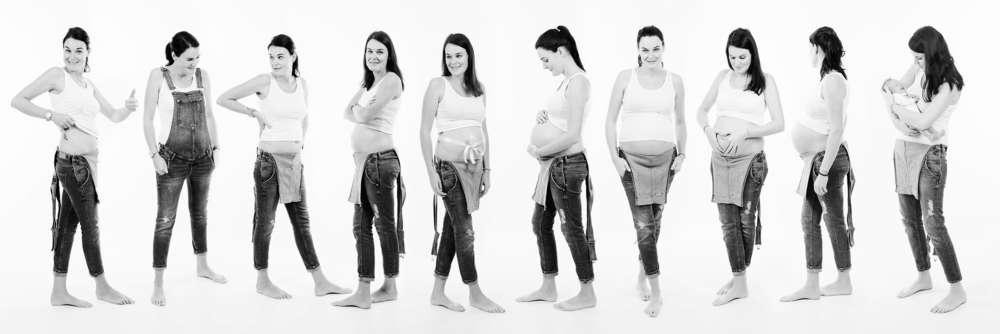 9 Monate Babybauch (Fotowerk Stefan Schwarz)