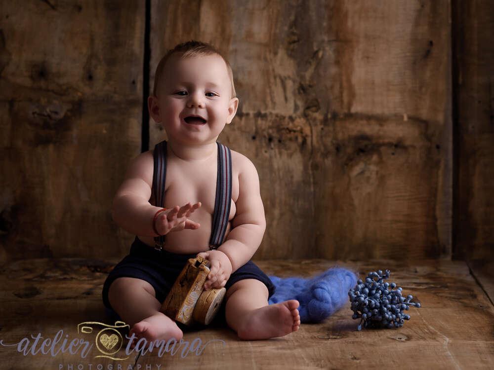 Babybild / mit ca 7-10 Monaten (Annett Thill)