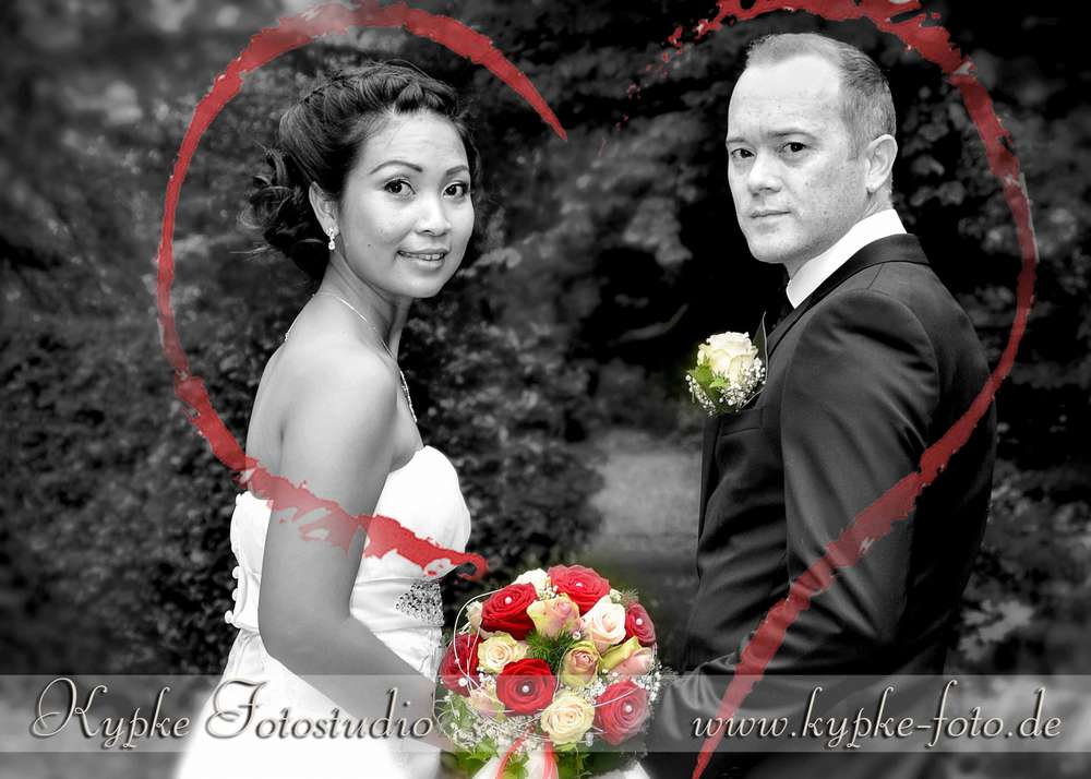 Hochzeitsshooting im Kurhaus (Kypke Fotostudio)