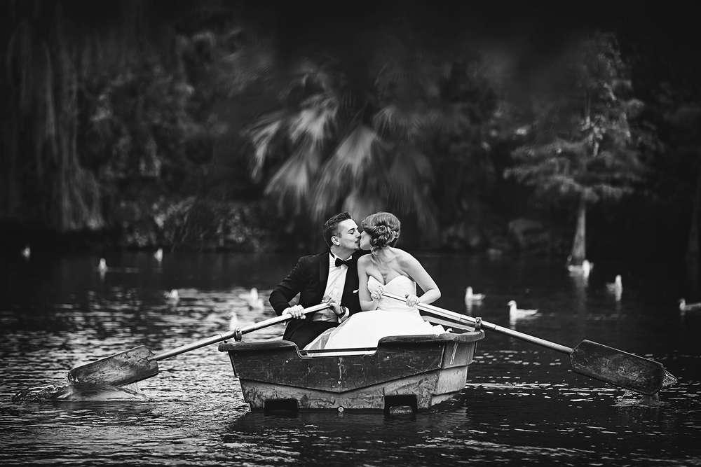 Hochzeit Brautpaar Barcelona (Frank Ullmer Hochzeitsfotografie)