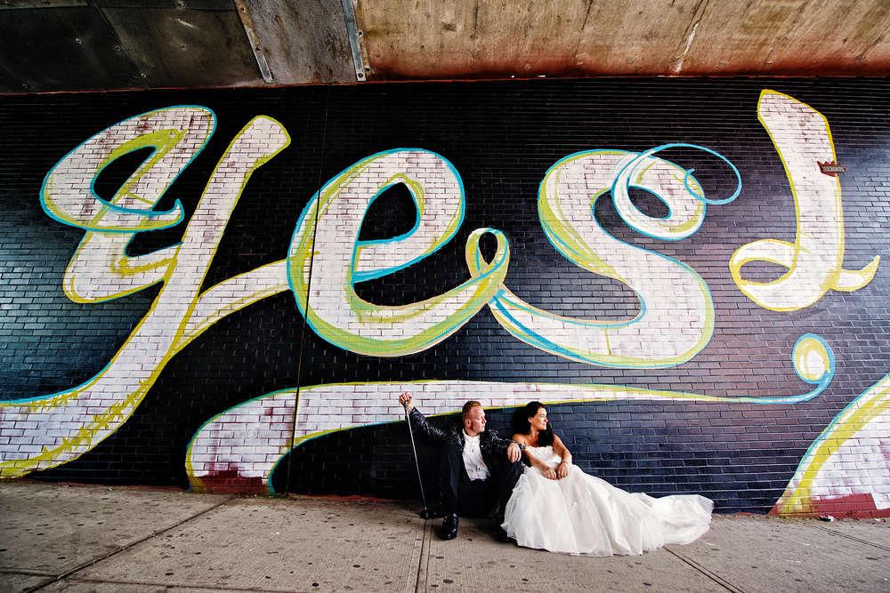 Hochzeit Brautpaar New York /