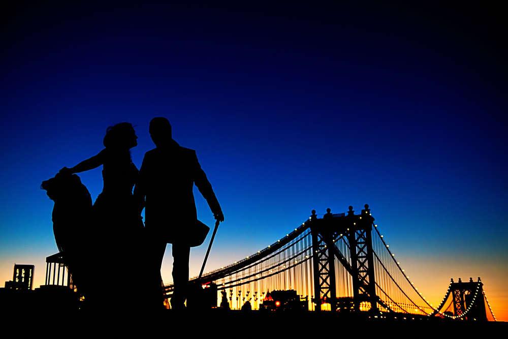 Brautpaar New York (Frank Ullmer Hochzeitsfotografie)