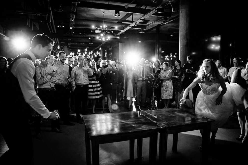 Hochzeit Tischtennis Schweiz (Frank Ullmer Hochzeitsfotografie)