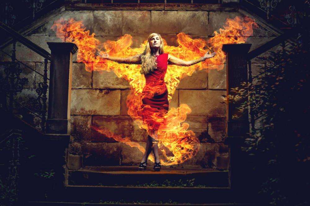 Fire Lady / www.sio-motion.de (Slo Motion)