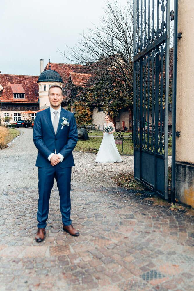 First Look / Gut Sonnenhausen (Ines Rast Photography)