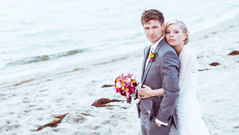 Hochzeit am Strand / Portrait (SoulPicture - Die Fotografen des Nordens)