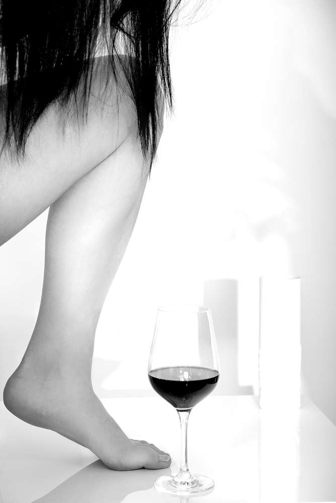 Red wine / Portrait – Beauty – Modefoto (Franz Fotografer Studio)