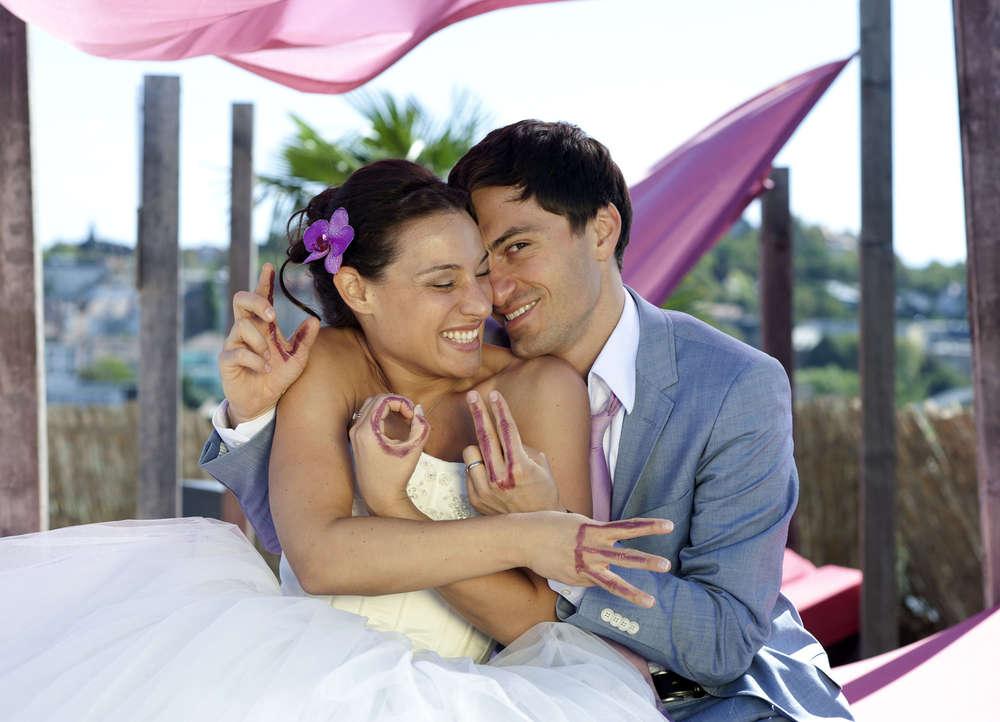 Hochzeitsfotos in Stuttgart / Sommer Sonne Lebensfreude (Sandra Wolf Fotografie)