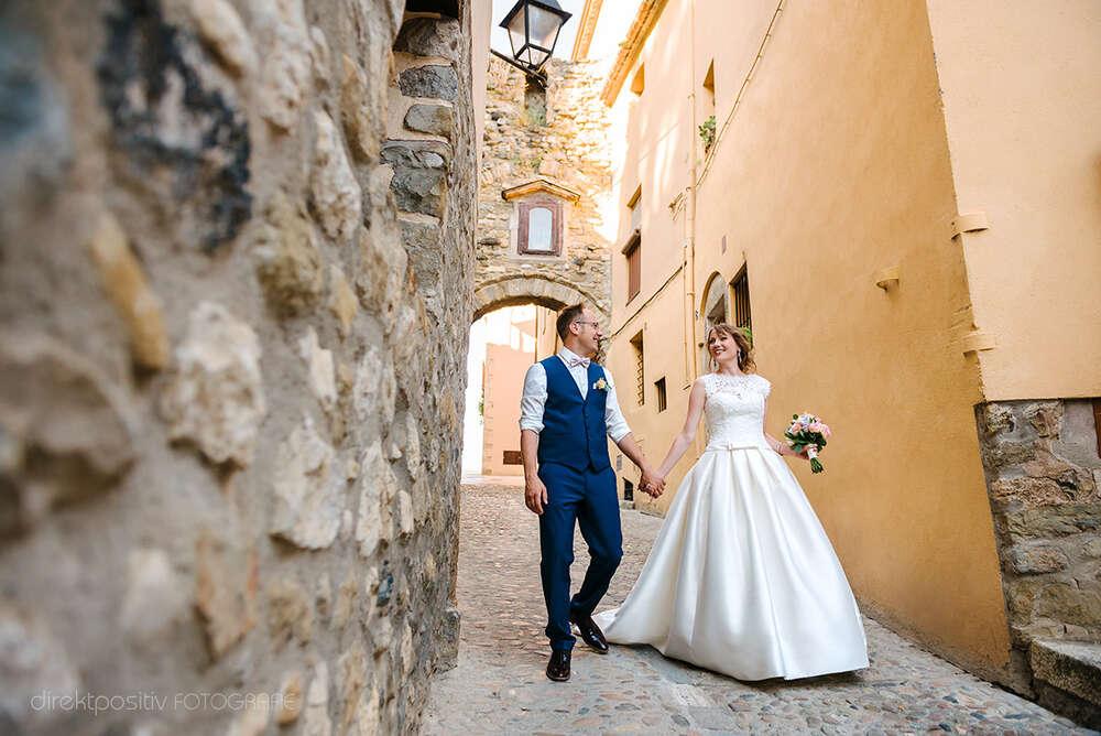 Hochzeit in Spanien (Direktpositiv Fotografie)