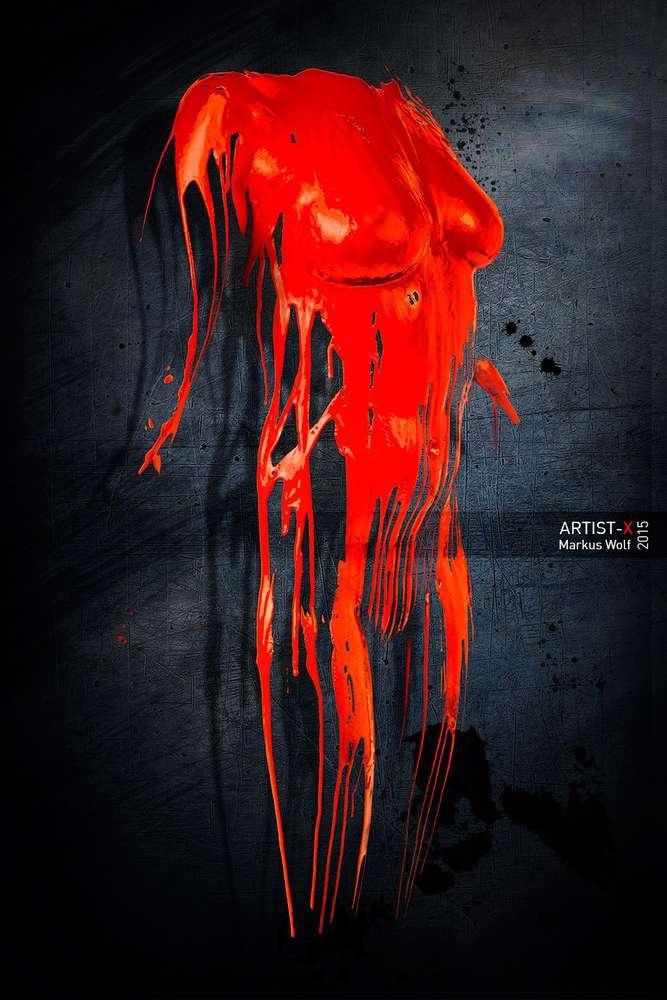Akt mit Farbe (Markus Wolf . FOTOGRAFIE)