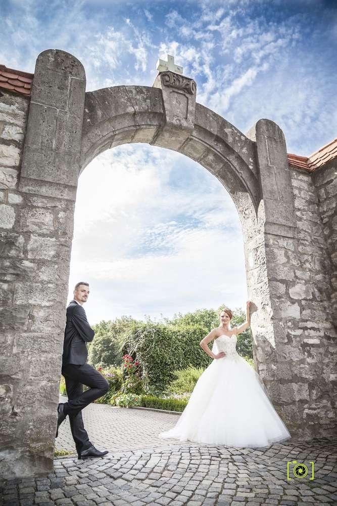 Cooles Brautpaar / Brautpaarshooting (Fotodesign-Tom Hochzeitsfotograf)
