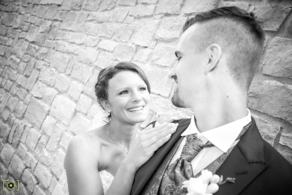 Der Blick / lächeln (Fotodesign-Tom Hochzeitsfotograf)