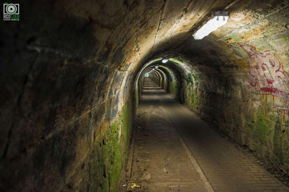Meuerschleuse Kamenz / Dieser Tunnel ist wirklich etwas Besonderes. (Fotograf-Pulsnitz.de)