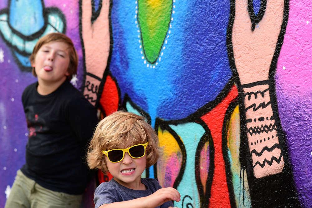 Grafity Kinder / Grafity (EE fotografie)