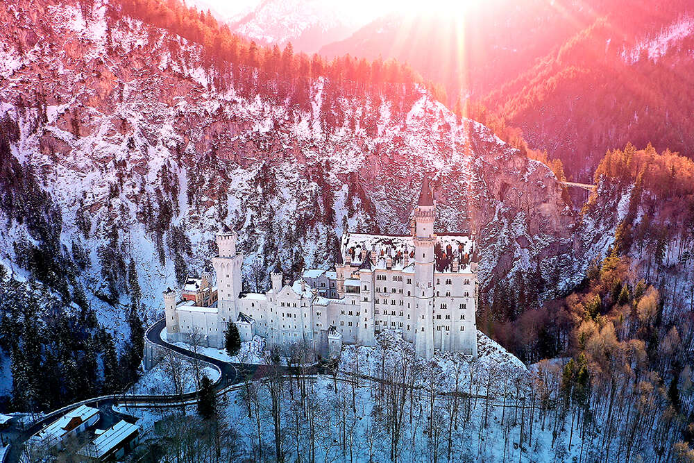 Schloss Neuschwanstein (EE fotografie)