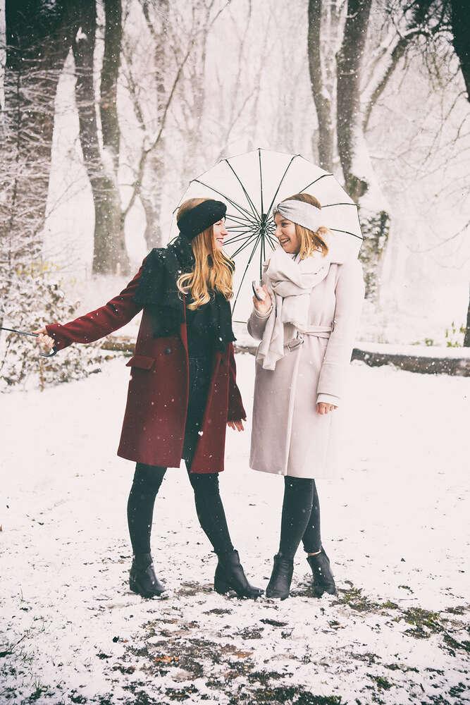 Schwestern im Schnee (EE fotografie)