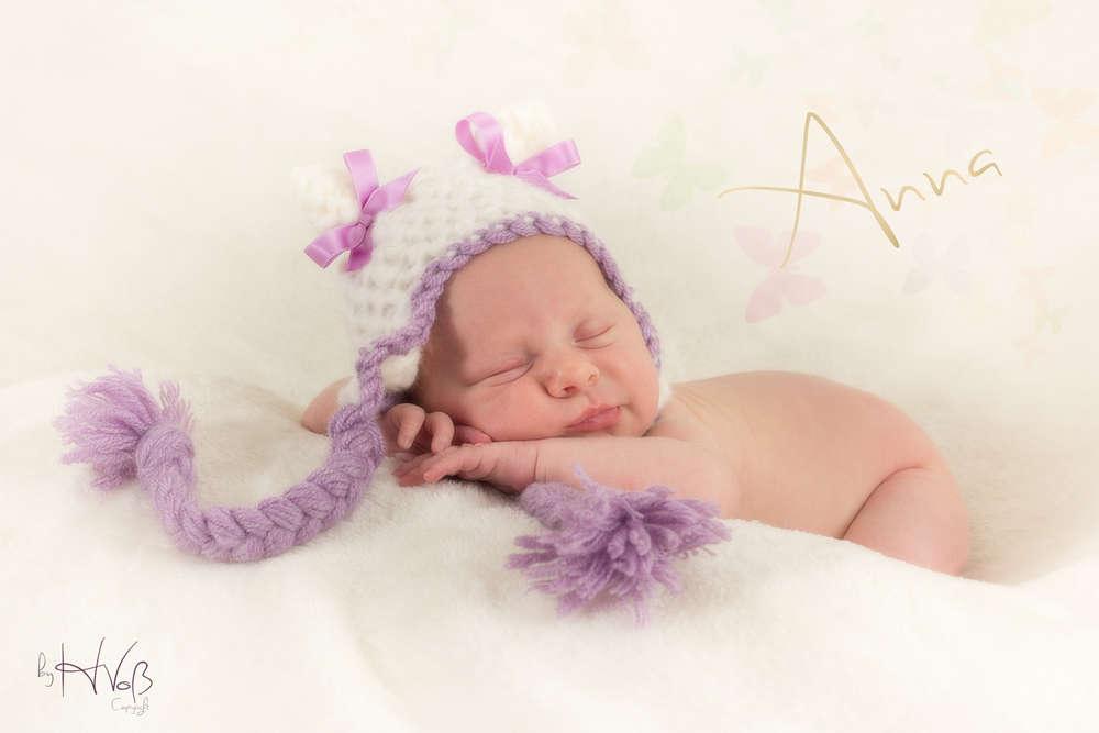 Baby Anna / Newbornfotografie (Helmut Voß - Foto und Design)