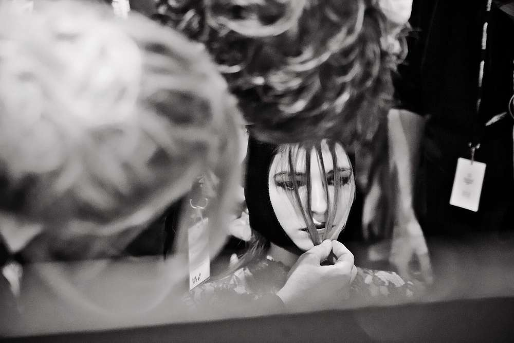 Fashion Week Backstage / Reportage (Heiko Laschitzki)