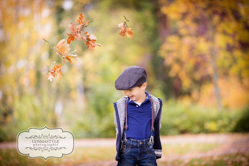 Fallin leaves / Kindershooting, Kinderfotograf, Kinderfotografie, Kind, Fotograf, Kinderfotos, Fotos, outdoor,  (Cosmastyle Photographie)