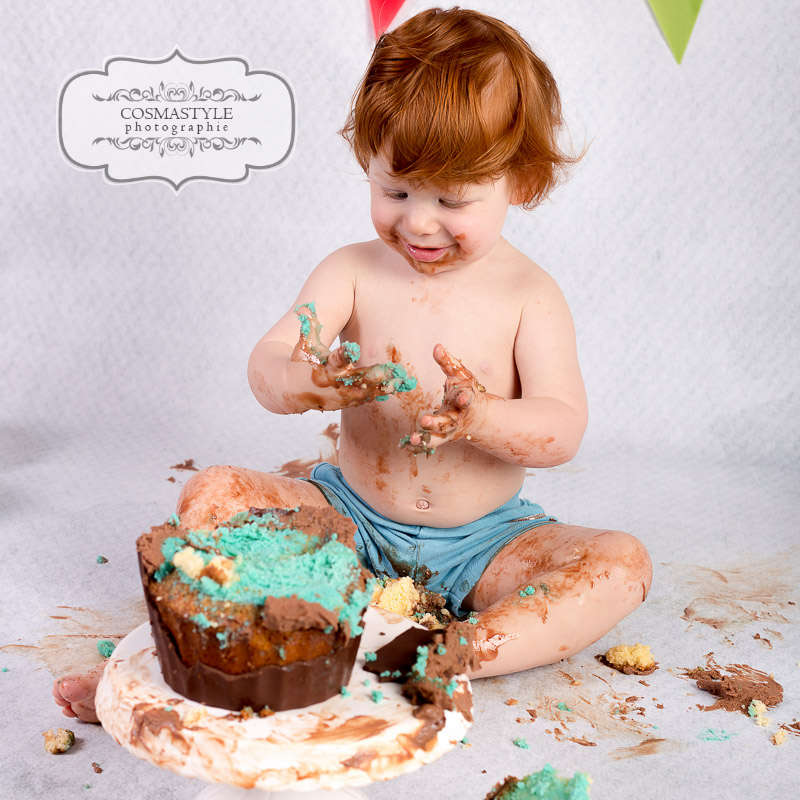 Cake Smash  / Kindershooting (Cosmastyle Photographie)