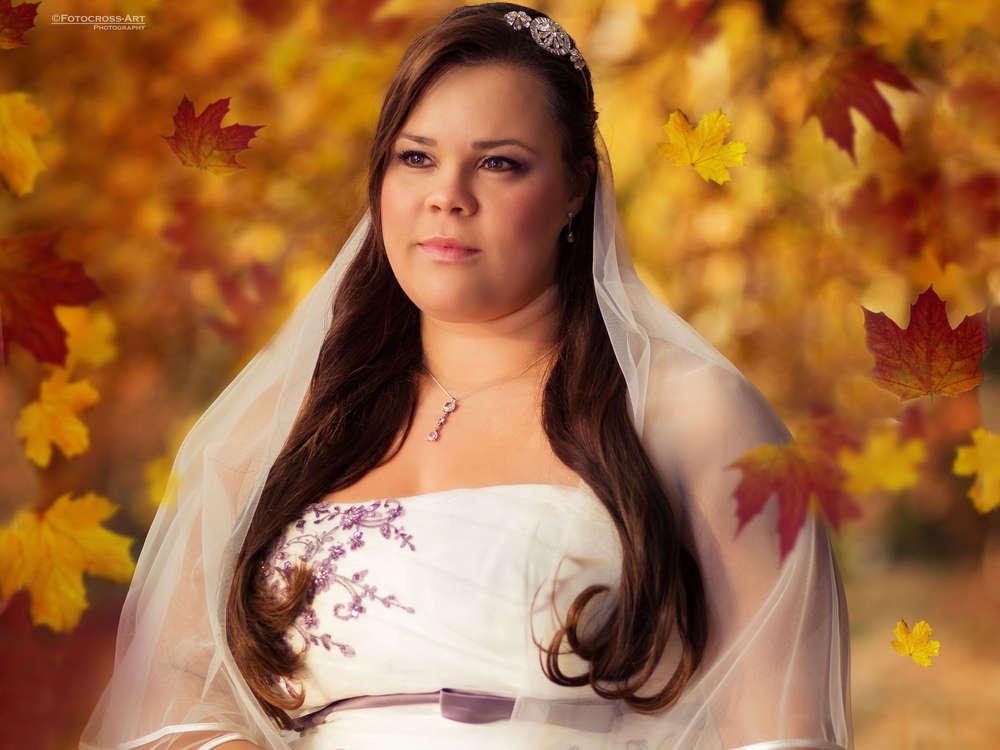 Herbstlaub / Braut