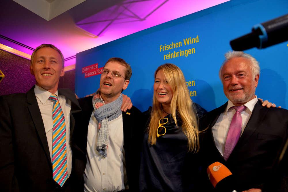 FDP-Wahlparty /
