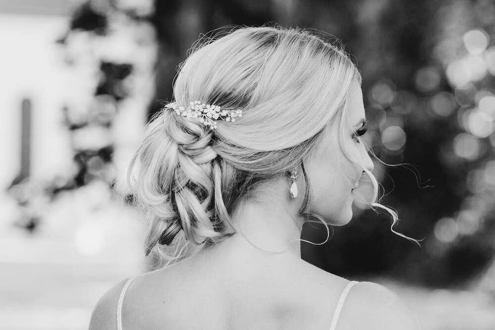 Brautfrisur / Brautportrait (MARINA LANG PHOTOGRAPHY)