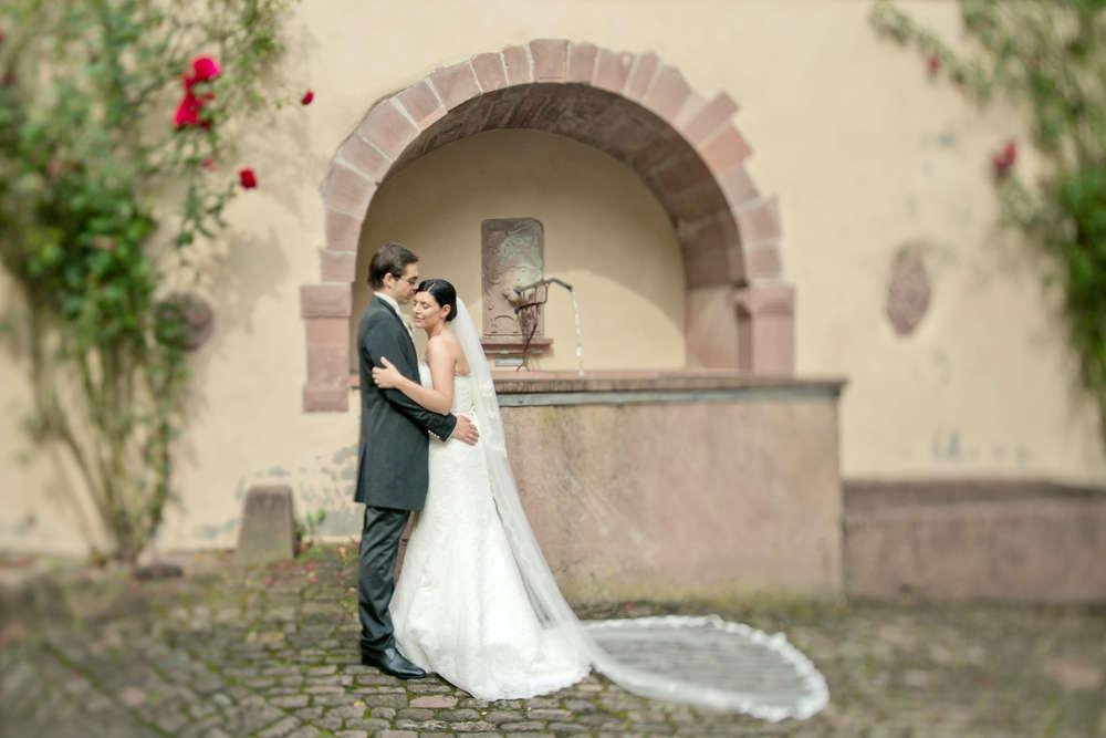 Hochzeitsfotos - Schloss Neuenbürg /